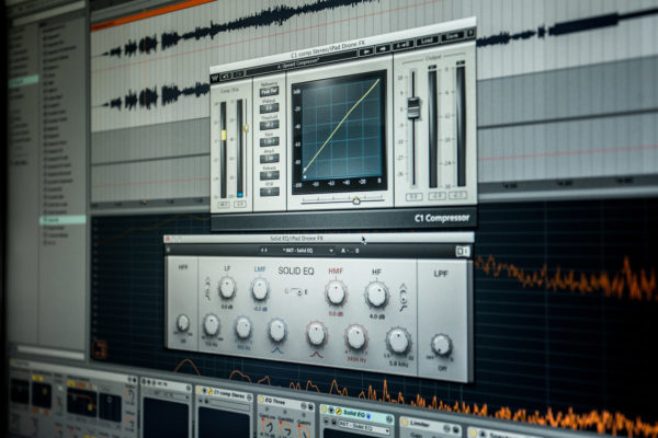 Mammoth Ulthana – Jacek Doroszenko and Rafał Kołacki, Particular Factors – New album recording session, Happy Light studio