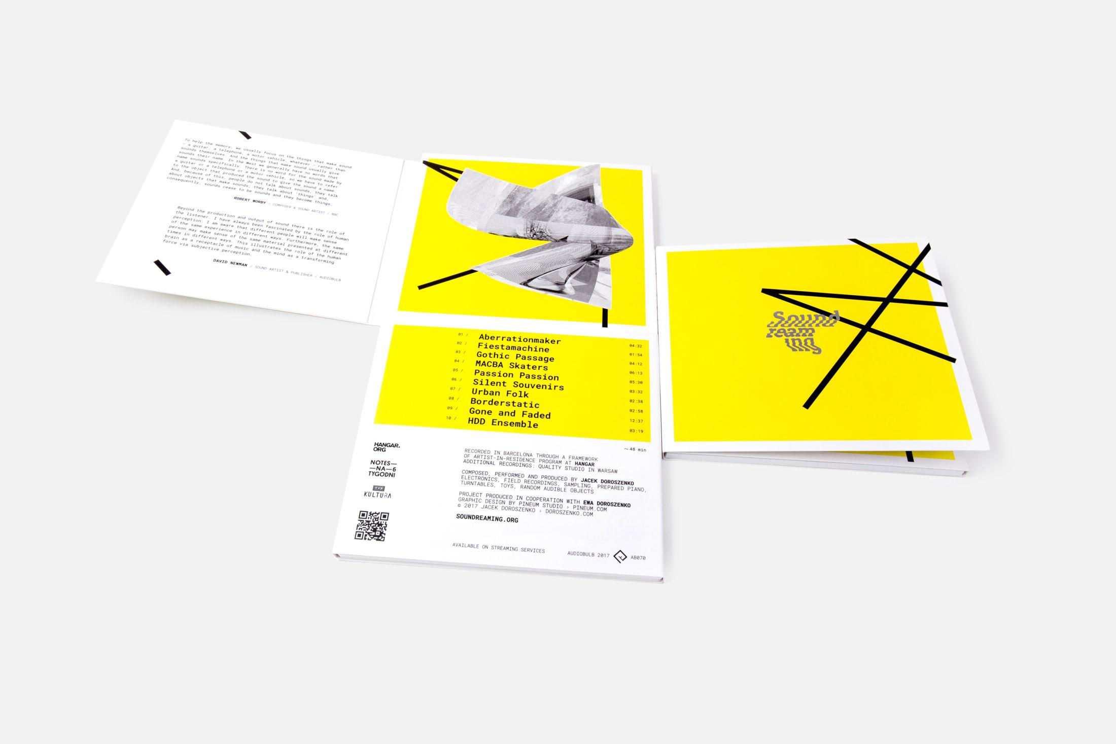 Soundreaming – album by Jacek Doroszenko