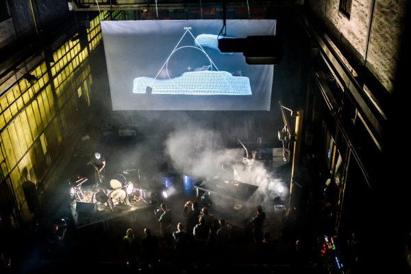 Mammoth Ulthana – Jacek Doroszenko and Rafał Kołacki – live performance during TehoFest, FOD, Bydgoszcz