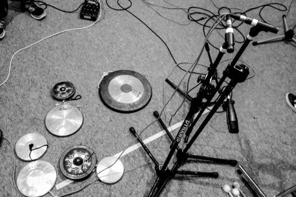 Mammoth Ulthana – Jacek Doroszenko, Rafał Kołacki – recording session, Happy Light Studio
